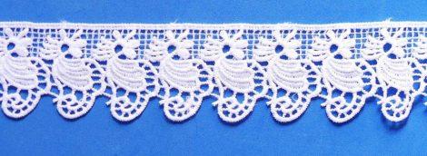 Légcsipke csipke 50 mm fehér, (H3428-5) ,(10Y=9m)
