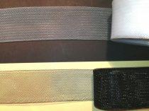 Lószőr szalag 40 mm, fekete vagy fehér színben, kemény tartású ruha merevítő. 180 Ft/m (25 méteres)