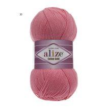 Alize Cotton Gold fonal, 45 % akril-55% pamut 100 gr/330 méter 1030 Ft/100gr (10300 Ft/1 kg) (5x100gr)