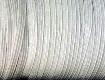Gumipertli 5,5  mm, fehér, lapos gumizsinór, 72 Ft/méter (50 méter)