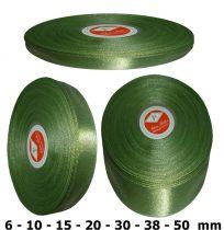 Szatén szalag kekizöld 6 mm - 50 mm 30 méter/kiszerelés