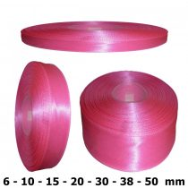 Szatén szalag pink rózsaszín 6 mm - 50 mm 30 méter/kiszerelés