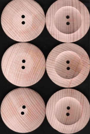 Kabátgomb fa, 88-as méret,55mm 240 Ft/db