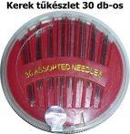 Varrótű készlet kerek (T) 30 db-os, 300 Ft/készlet