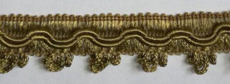Cakkos szegő szalag, óarany színben (világosabb)   25 mm, 320 Ft/m  ( 25 m)