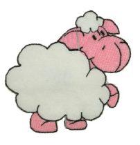 Bárány varrható címke kb. 5 cm 370 Ft/db (5 db/cs)