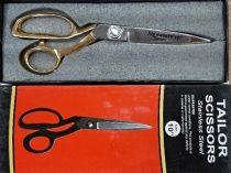 """Szabóolló Tailor 10""""  , hagyományos rozsdamentes olló 25,4 cm.  5500 Ft / db"""