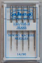 Háztartási varrógéptű, 130/705 H, Jeans 80 Ft/db, Mindenféle háztartási varrógéphez ajánlott.
