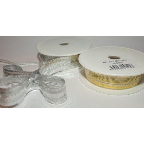 Arany vagy ezüst 20 mm-es gyorsmasni 10 méteres kiszerelésben 98 Ft/m