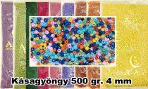 Kásagyöngy 500 gr-os, 4 mm, 1750 Ft/csomag (3500 Ft/kg)