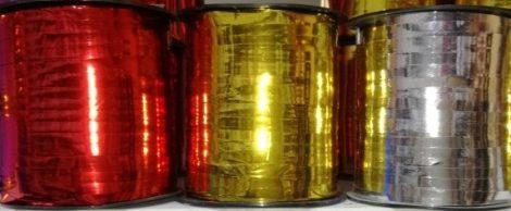 Kötöző szalag metal színekben, 5 mm 500 Y( 460m)