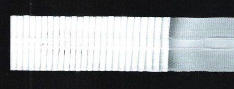 Folyamatos függöny behúzó fehér, 25 mm  40 Ft / méter (100 méteres)