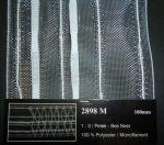 Függöny behúzó, 100 mm,  méhsejtes, átlátszó, Kód: 2898M , 570 Ft / méter  ( 50 méteres)