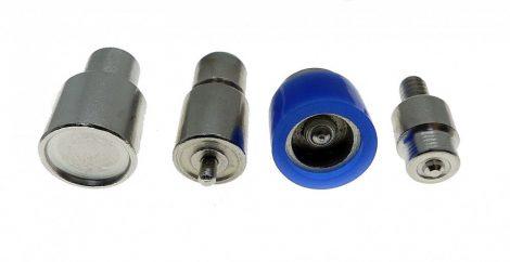 Rugós patent nyomó fej / aparát 15 mm-es patenthez. 8000 Ft/szett