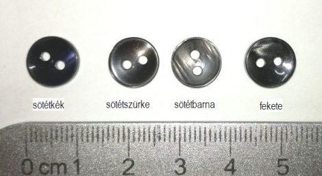 Inggomb 16-os 2 lyukú átvarró ( 10 mm) 8 Ft/db ( 100 db)