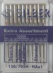 Silber varrógéptű EXTRA ASSORTMENT  lapos végű, háztartási varrógépekhez 140 Ft/db (10 db-os vegyes méretekben)