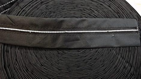 Derékbélelő gumis, fekete v. fehér 150 Ft/méter ( 50 méteres)