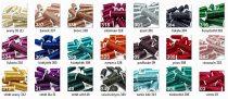 Metalux kézi himző lurex cérna, többféle színben. 100% fémszál.   265 Ft/orsó